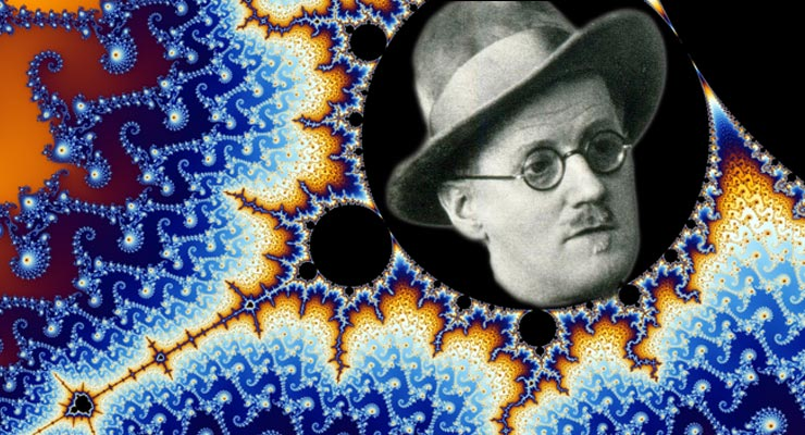 James Joyce Finnegan's Wake Fractal