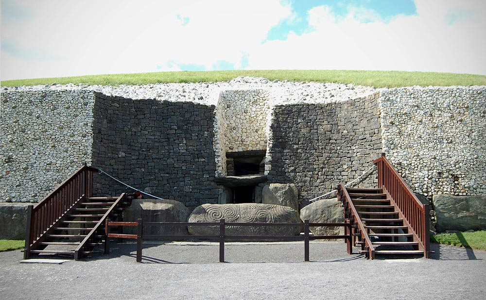 Megaliths Newgrange County Meath Ireland