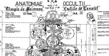 Fascinating Image of the Occult Anatomy of Man