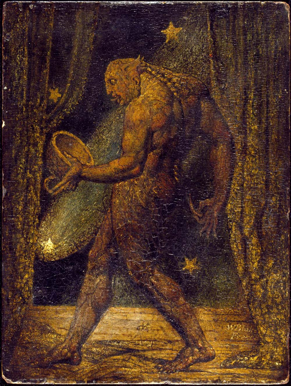 Ghost of a Flea William Blake