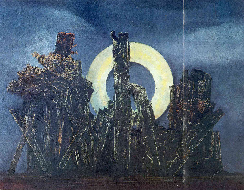 Max Ernst Large Forest