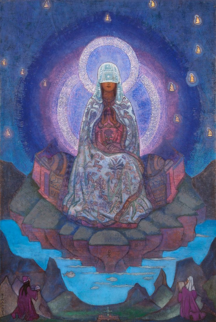 Mother of the World by Nicholas Roerich. Image via Wikiart.org.