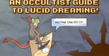 Here's a Comic Book Guide to Lucid Dreaming!