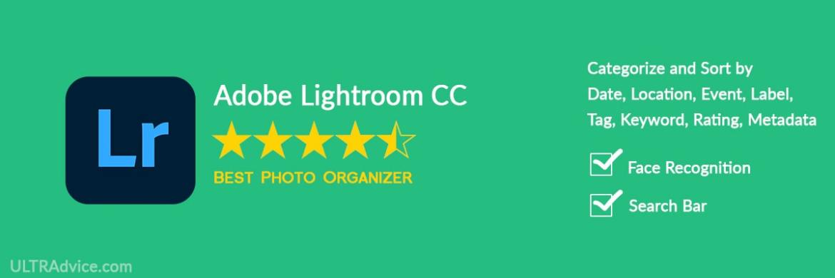 Adobe Lightroom CC - Best Photo Organizing Software - ULTRAdvice.com
