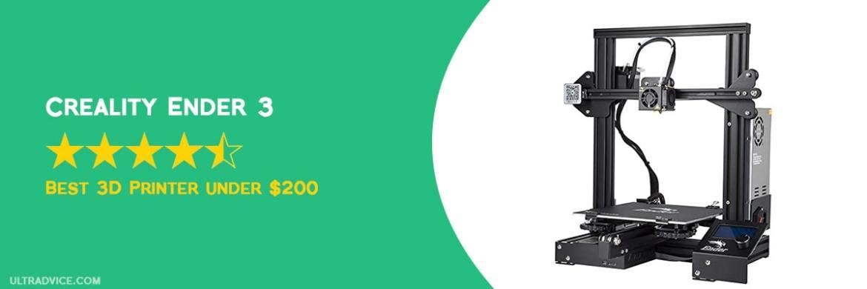 Creality Ender 3 3D Printer - Best 3D Printer under 200 - ULTRAdvice.com