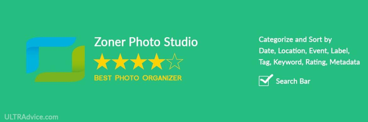 Zoner Photo Studio - Best Photo Organizing Software - ULTRAdvice.com