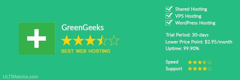 GreenGeeks - Best Web Hosting for Small Business - ULTRAdvice.com