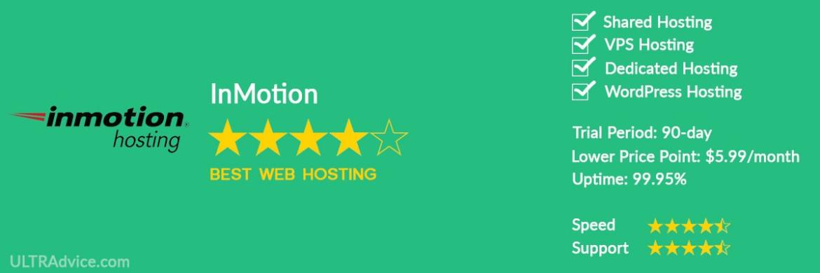 InMotion - Best Web Hosting for Small Business - ULTRAdvice.com
