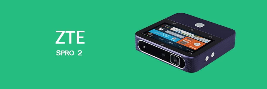 ZTE Spro 2 - Best Tablet With Built-In Projector