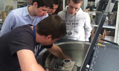 Ultraflex Power held open day for students and shared the magic of induction heating