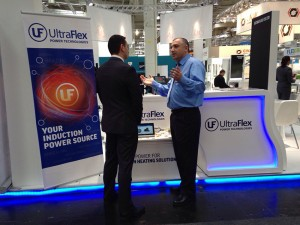 UltraFlex Hannover Messe 2015. Worldwide customer-focused induction heating solutions from Ultraflex Power Technologies.