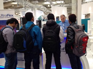UltraFlex Hannover Messe 2015