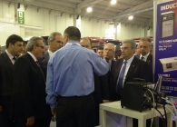 Ultraflex team shows induction heating demo to the mayor of Bursa, Turkey