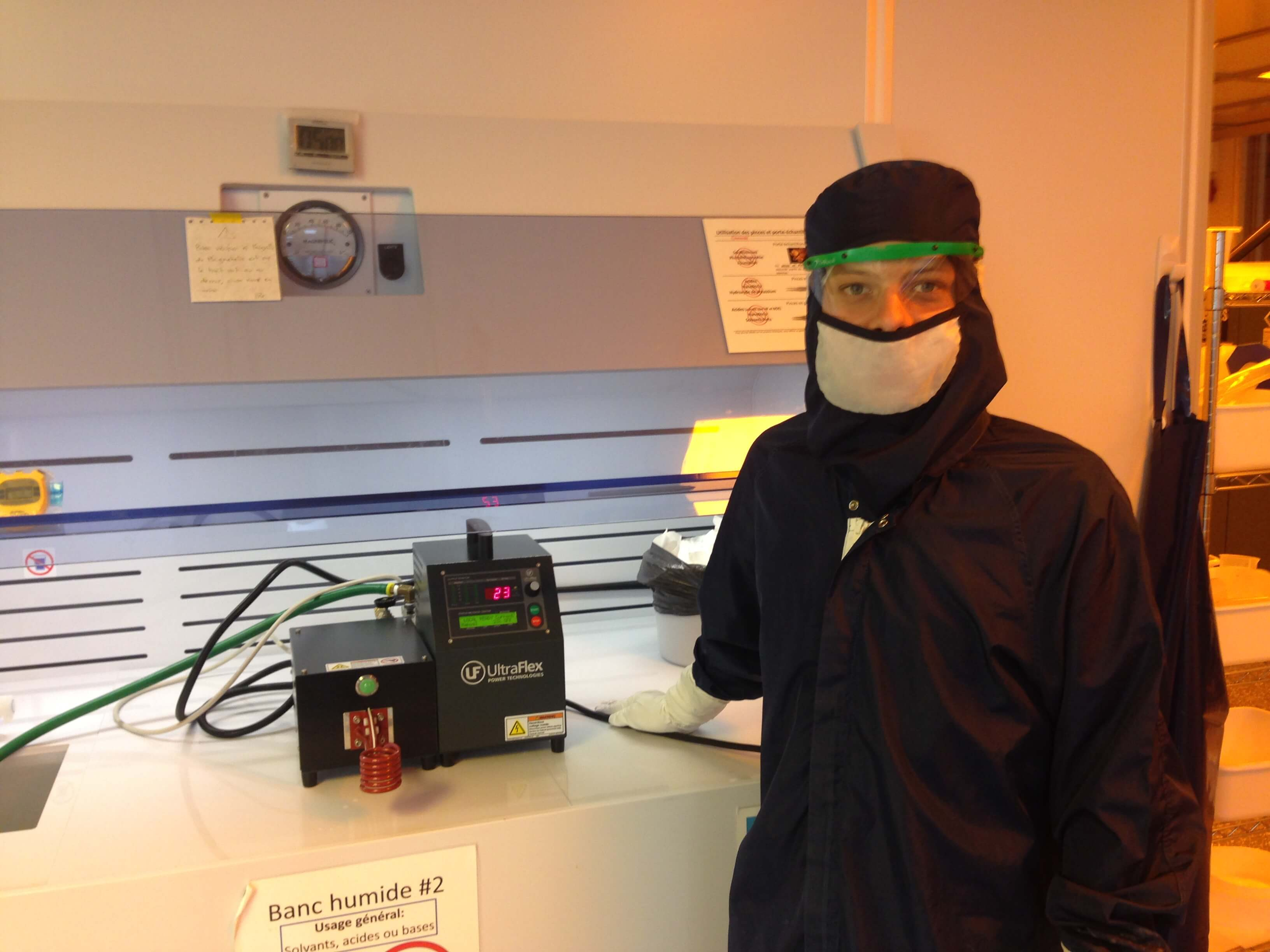 Nanoparticle Research Induction Heating