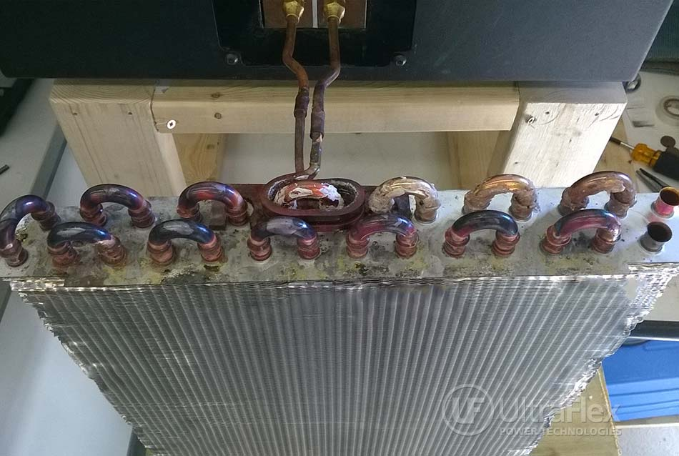 production line heat exchanger