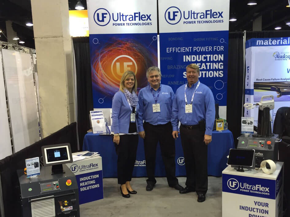 The Ultraflex Team at Fabtech