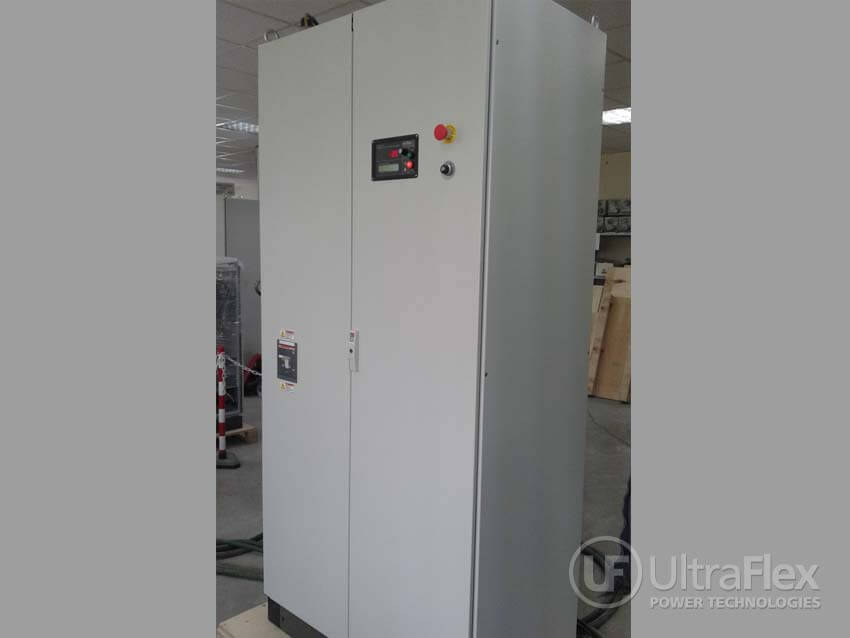 UPT LN100/50 Induction Heating Power Supply, operating from 10-50 kHz.