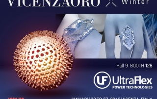 VicenzaOro Winter 2016 Ultraflex Power Technologies