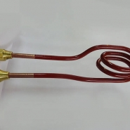 Induction Oval 3-turnCoil for Induction Heating. Ultraflex Power Technologies.