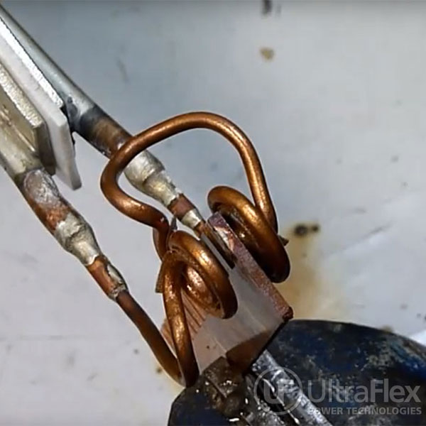 Brazing Copper Wires and Bus Bars