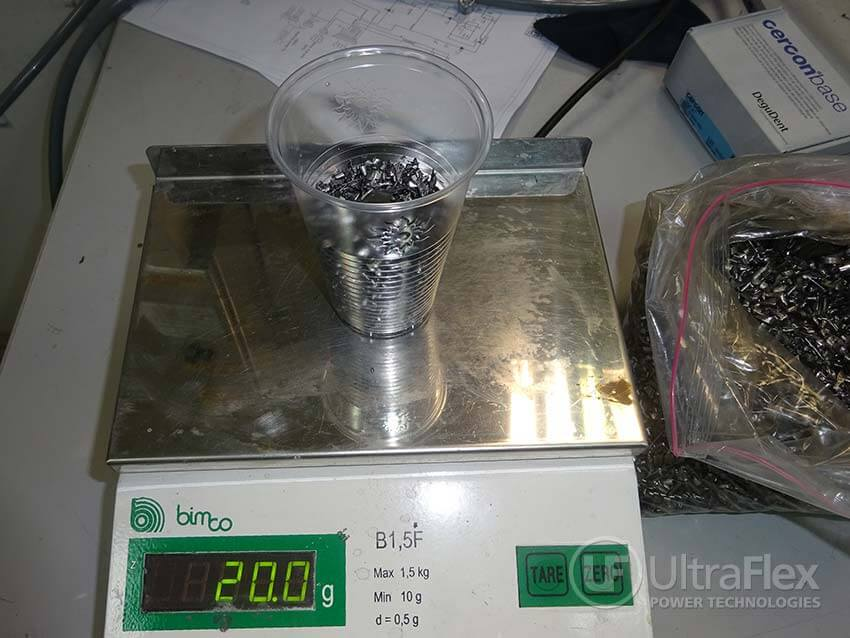 Melting Titanium using Ultraflex SuperCast J5