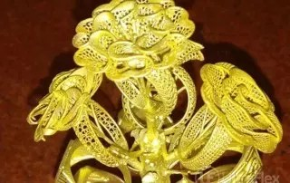 Beautiful Gold castings