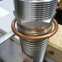 Braze Carbide Cap to Steel Shaft