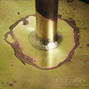Braze carbide to steel with Ultraflex UPT-S5 and HS-4 Heat Station
