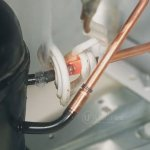 Automated Induction brazing of copper pipes in refrigerator assembly for in-place brazing