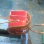 Brazing a Copper Section with Induction