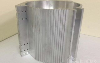 Heating aluminum housing