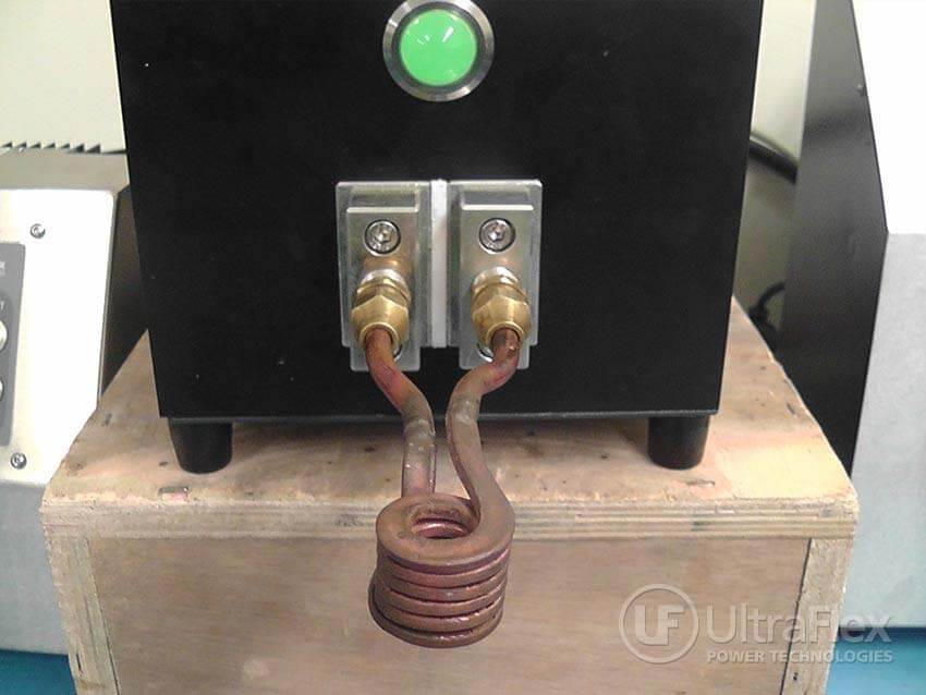 induction heating copper