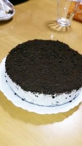 低カロリー!ココアビスケットチーズケーキ