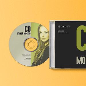 CD Sticker Printing in India