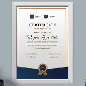 Certificate Printing Chennai
