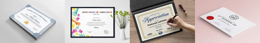 certificate design and printing company