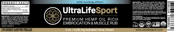 Premium Embrocation & Muscle Rub (Cooling)