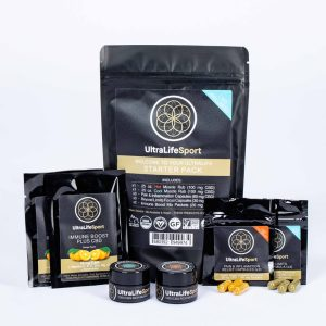 Shop UltraLifeSport CBD rich products