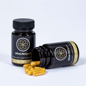 UltraLifeSport Pain and Inflammation Relief Capsules with CBD and CBG