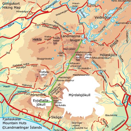 laugavegur-trek-map