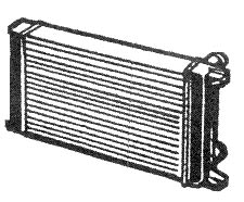Rotax radiators, Rotax 582 radiators, Rotax 618 radiators