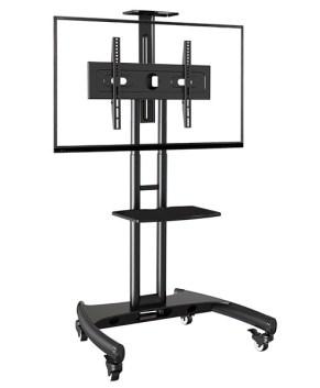 """TV / Bildschirm Rollständer mobiler Standfuß für 40""""–60"""" LCD/LED/Plasma, max. 45,5kg"""