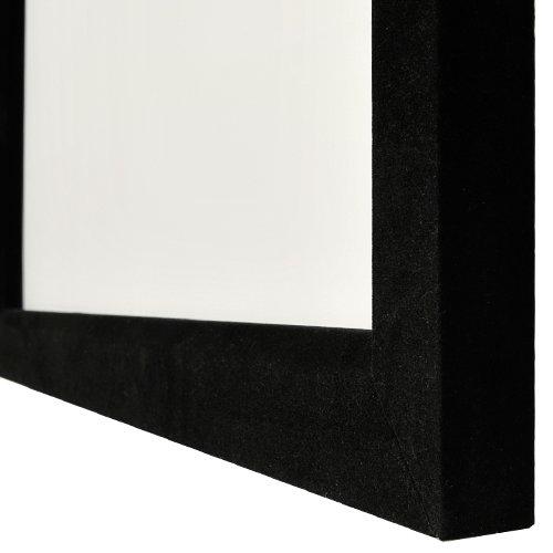 Rahmenleinwand Schwarz