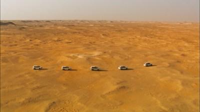 drone film production in Qatar