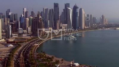 drone filming in qatar