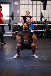 CrossFit thruster