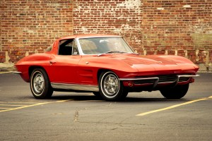 1963 split window corvette photo