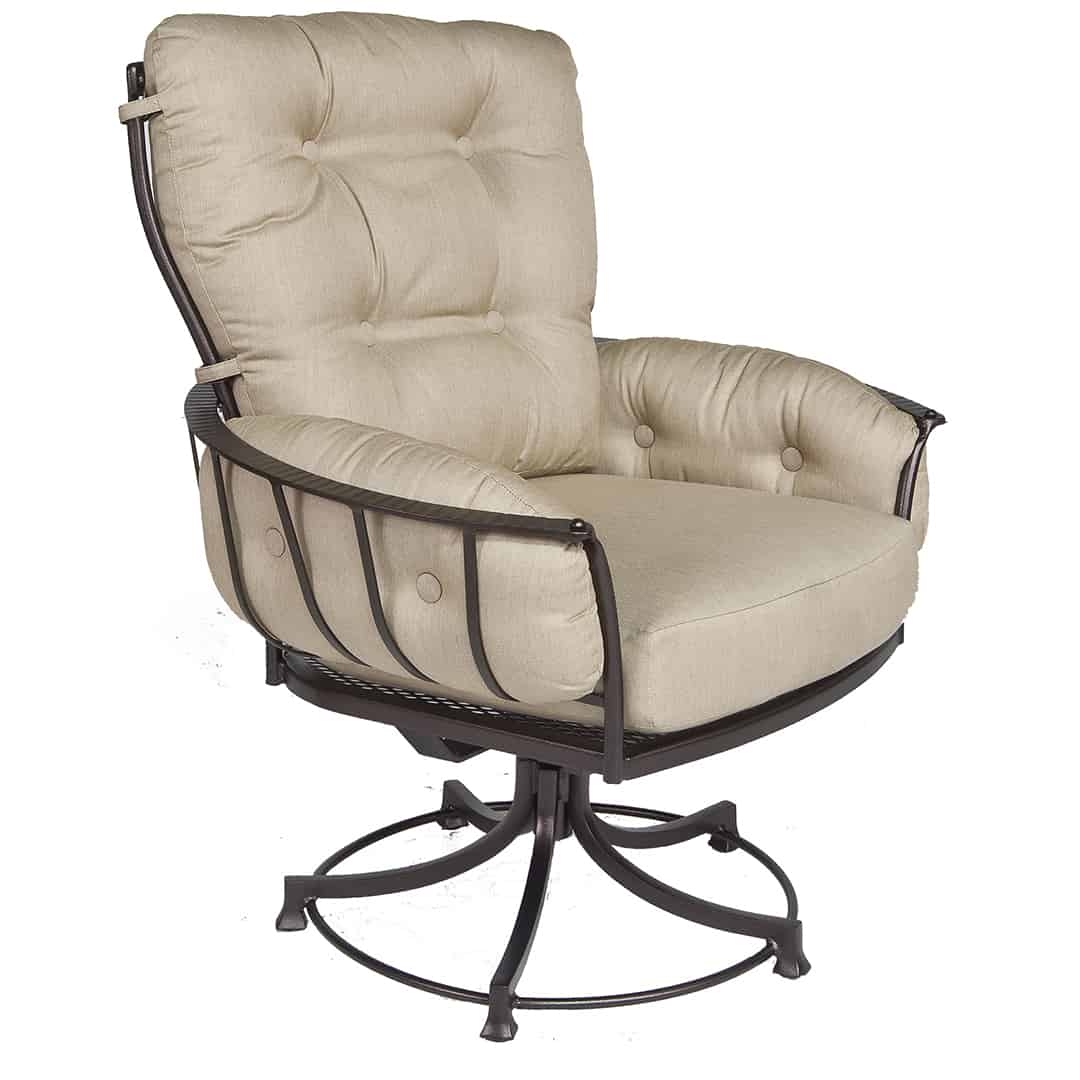 Swivel Rocking Chairs Monterra Club Swivel Rocker Dining Chair Ultra Modern