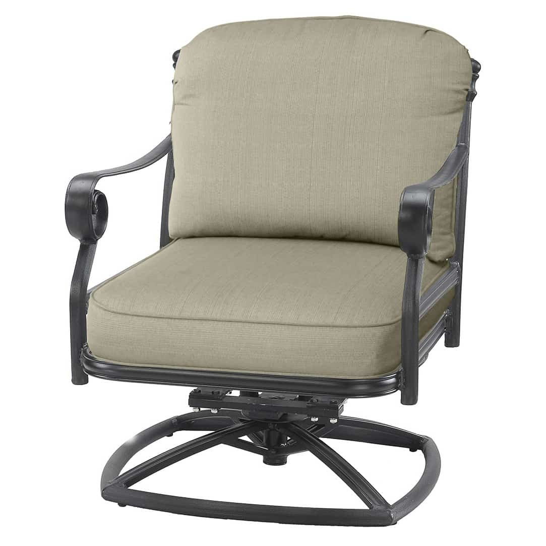Swivel Rocking Chairs Verona Swivel Rocker Lounge Chair Ultra Modern Pool And Patio