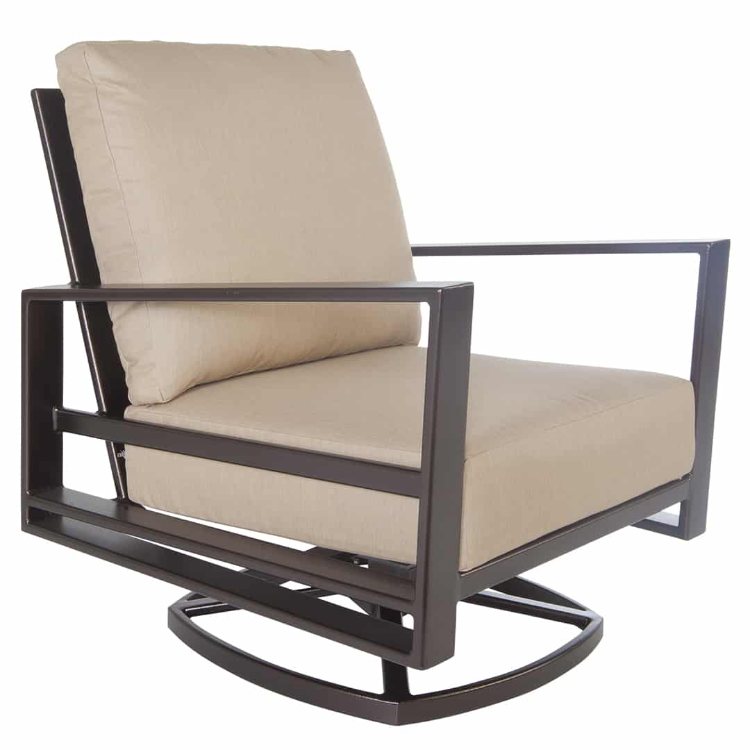 Swivel Rocking Chairs Gios Lounge Swivel Rocker Chair Ultra Modern Pool And Patio